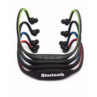 Sports Stereo Wireless Bluetooth 3.0 Headset (Red) - 2