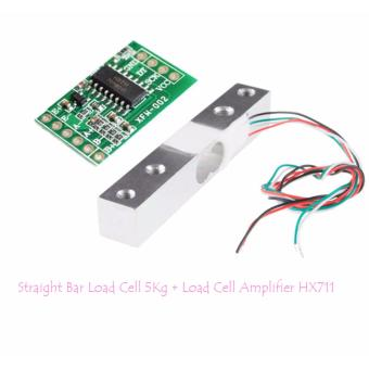 Straight Bar Load Cell 5Kg & Load Cell Amplifier HX711