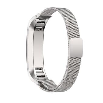 Strap for FitBit Alta Milanese loop Stainless Steel Watchband -intl