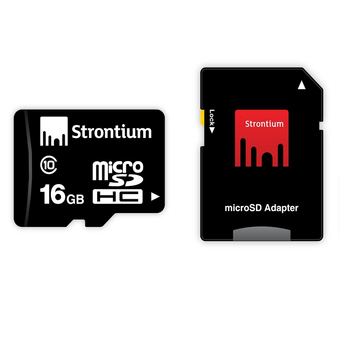 Strontium Basic Class 10 Micro SD 16GB