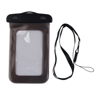 Stylish Waterproof Bag Pouch Case For Mobile Phone Black