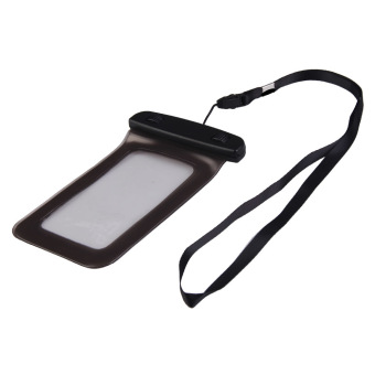Stylish Waterproof Bag Pouch Case For Mobile Phone Black - picture 2