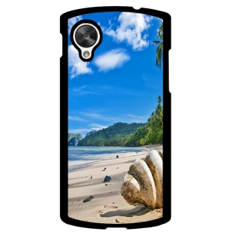 Sunshine Beach Pattern Phone Case for LG Nexus 5 (Multicolor) - picture 2