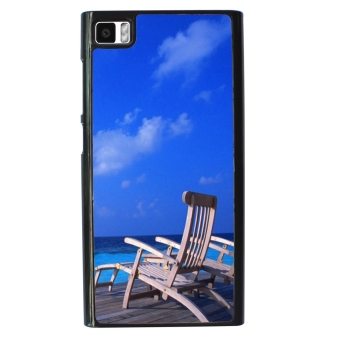 Sunshine Beach Pattern Phone Case for Xiaomi Mi3 (Blue)