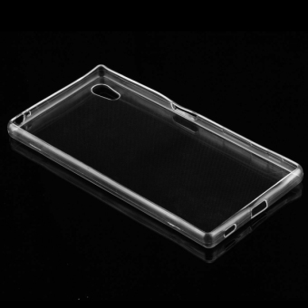 ... SUNSKY 0.75mm Ultra-thin Transparent TPU Protective Case for Sony Xperia Z5 (Transparent ...