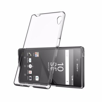 Super Thin Dirt-resistant Clear Transparent Silicone Soft TPU Phone Case For Sony Xperia Z1 - intl