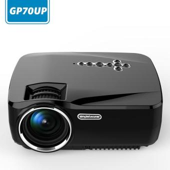 svoovs Android Smart WiFi Projector, GP70UP Wireless Mini LED Video Projector Support Smartphone Laptop TV Box DVD VGA Etc Miracast Airplay for Entertainment - 2