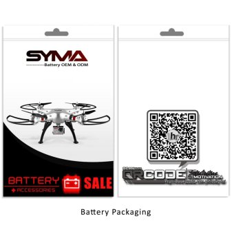 Syma 650mAh Li-Po Battery with Charger for Syma X5C X5SC and X5SW Drone - 3