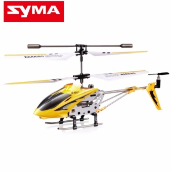SYMA S107G/S107 GYRO Metal Series 3 CH Infrared RC Mini Helicopter(Yellow)