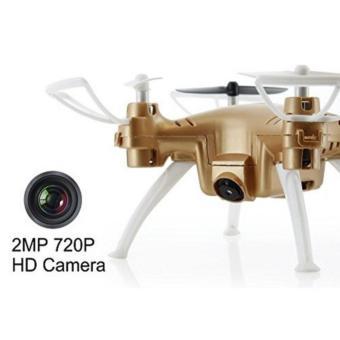 Syma X52C Nano Quadcopter with 2MP 720P HD Camera (Gold) - 3