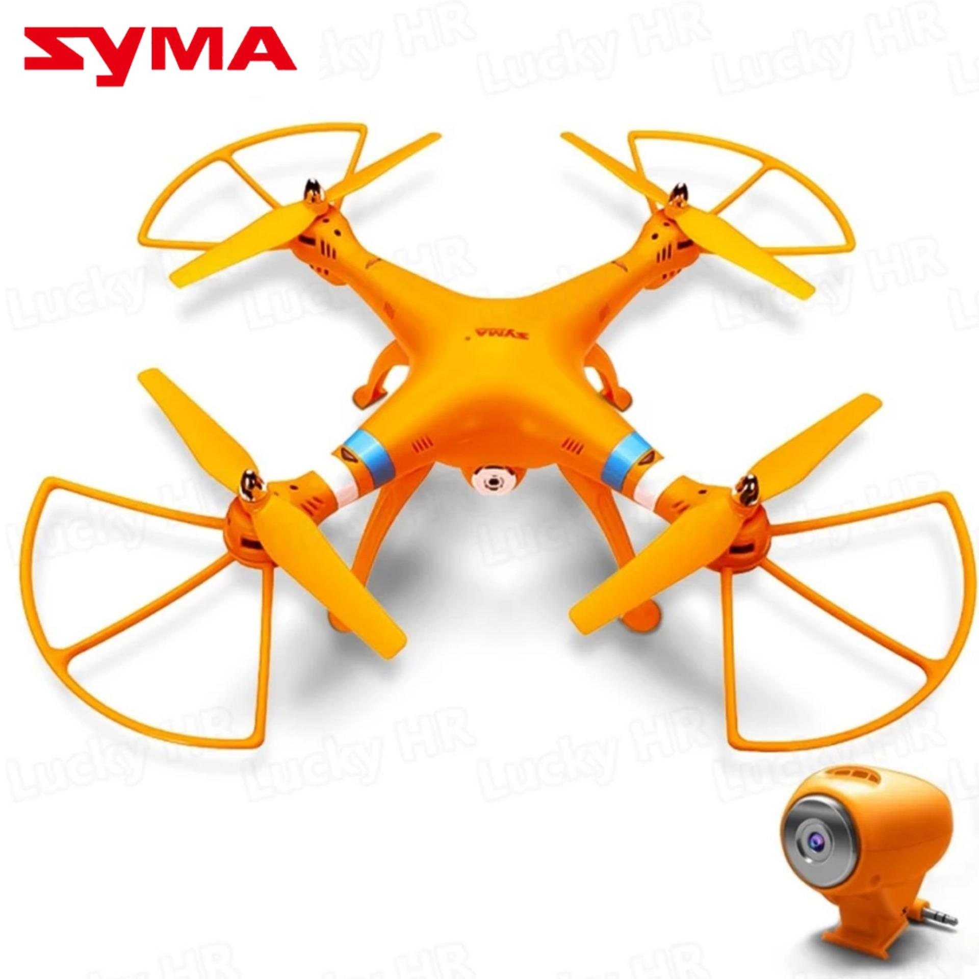 Syma X8C Venture With 2MP 24G 4CH Quadcopter Orange