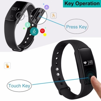 Sywell ID107 Heart Rate Wristband Smart Watch Sports Fitness BT4.0- intl - 5