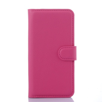 SZYHOME Phone Cases For LG G4 Beat Luxury Retro Leather Wallet FlipCover Black Blue Brown Green Pink Purple Red Rose White Solid ColorShell - intl - 4