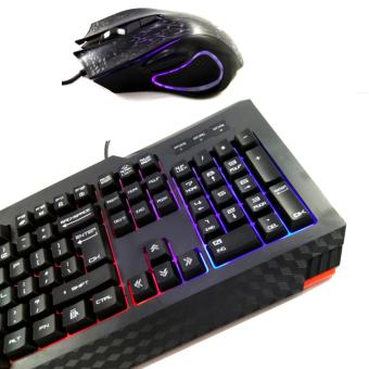 T10 Gaming Rainbow Led Gaming Keyboard Mouse Combo - 3