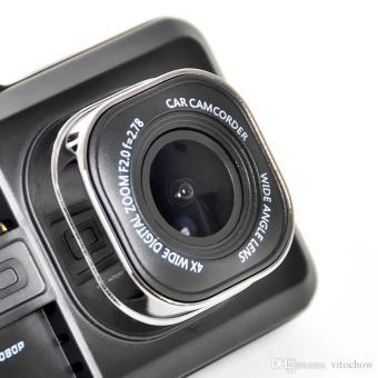 T636 Dual Lens Dash Camera Vehicle Blackbox Dashboard DVR WithG-Sensor - 5