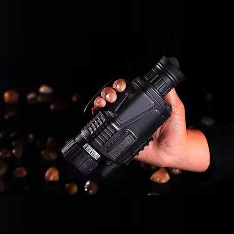 Tactical Infrared Digital Night Vision Monocular Scope 5X40 Zoom200m for Hunting - intl