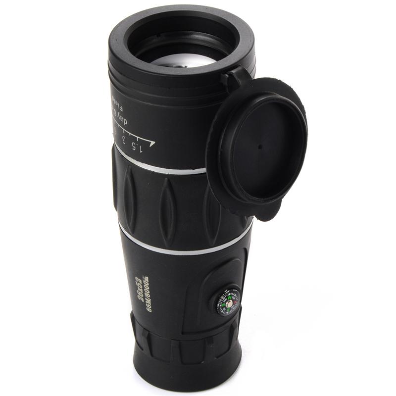 Tactical Super 26x52 mm Focus Ultra HD Travel Telescope Optics ZoomMonocular Telescopic - 4