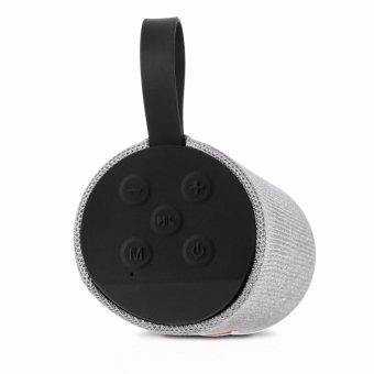 T&G TG113 Super Bass Splashproof Wireless Bluetooth Speaker (Silver) - 5