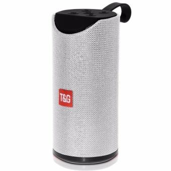 T&G TG113 Super Bass Splashproof Wireless Bluetooth Speaker (Silver) - 2