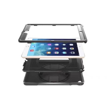 TCF Hard Shell Shock Proof with Built-in Stand Case for iPad Air 2 - 3
