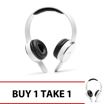 Techno Tamashi TH-T1 Over-the-Headphones (White) Buy 1 Get 1
