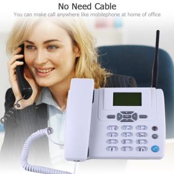 Telephone Cordless phone telefone telefone sem fio wireless phonetelefono inalambrico for office telephone and home - intl - 5