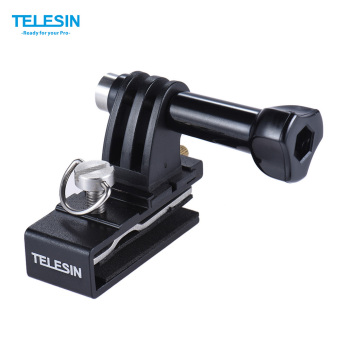 TELESIN Baseball Head Cap Hat Backpack Clip Clamp Mount AdapterSupport for GoPro 4/3+/3/2 for SJCAM Xiaomi Yi Action Sports CameraAccessories - intl