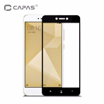 Tempered Glass for Xiaomi Redmi 4X Screen Protector Almost Full Cover Protective Film - intl