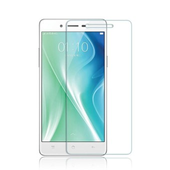 Tempered Glass Full Screen Protector HD For Oppo A37 (Gold)