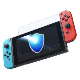 Tempered Glass Screen Protector Film Guard Shield for NintendoSwitch - intl - 3