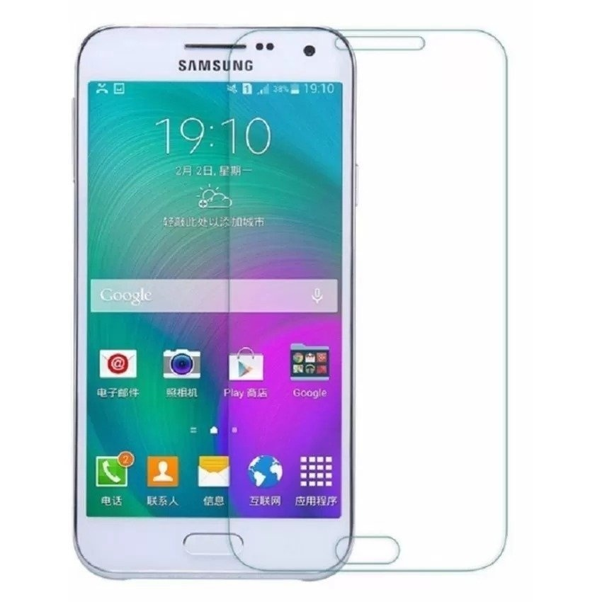 Tempered Glass Screen Protector For Samsung Galaxy J1-2016 J120 (Clear .