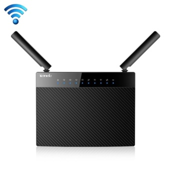 Tenda AC9 AC1200 Smart Dual-Band Wireless Router 5GHz 867Mbps +2.4GHz 300Mbps WiFi Router with 2*3dBi External Dual BandAntennas(Black) - intl