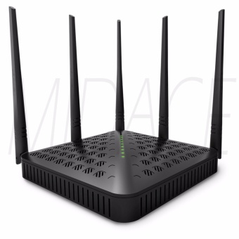 Tenda FH1202 AC Dual-band 1200Mbps Wireless WiFi Router Wi-FiRepeater 5x5dBi Antennas 2.4G & 5G Wi Fi Router EnglishFirmware