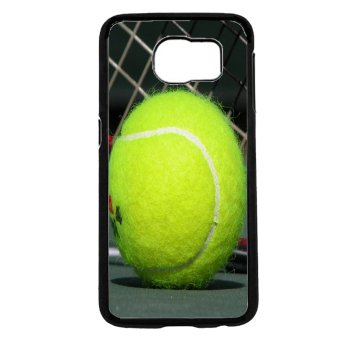 Tennis Ball Pattern Phone Case For Samsung Galaxy S6 (Black)