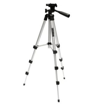 TF-3110A Metal Extendable Tripod Stand Monopod For Canon SONYCamera Camcorder - 2