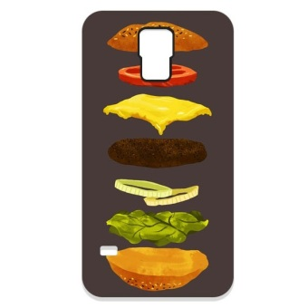 The Diff Burger PC Case for Samsung Galaxy S5 (Black)