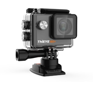 ThiEYE i60+ 12MP 4K ULTRA HD VIDEO Waterproof, Dustproof,Shakeproof Sports Mini Action Camera (Black)