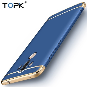 Topk Premium Plating Anti-Knock Dirt Resistant Smooth Hard Plastic Protective Phone Shell Back Cover Hard Case For Huawei Mate 9 Gold - intl - 5