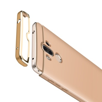 Topk Premium Plating Anti-Knock Dirt Resistant Smooth Hard Plastic Protective Phone Shell Back Cover Hard Case For Huawei Mate 9 Gold - intl - 2