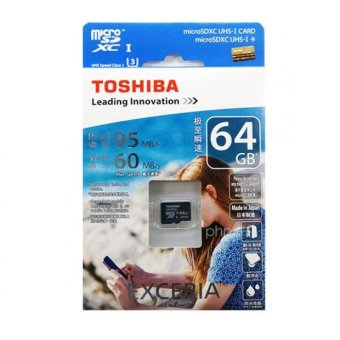 Toshiba SD-C064GR7VW060A 64GB microSDXC UHS-I Card - picture 2