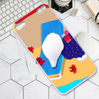Touch6 dimensional relaxation full edging silicone protective sleeve phone case