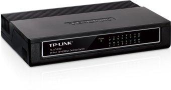TP-Link TL-SF1016D 16port 10/100mbps Desktop Switch - 3