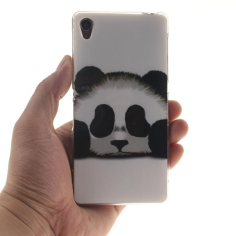 TPU Flexible Soft Case for Sony Xperia Z3 (Panda) - intl - 4