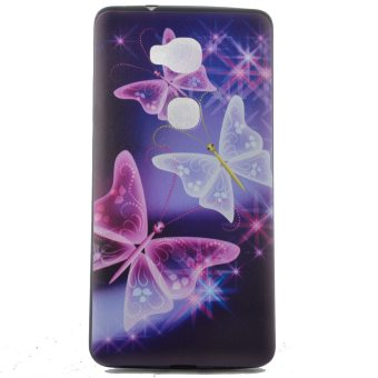 TPU Silicone Case Cover for Huawei Honor 5X / GR5 (Butterfly) -intl - 2