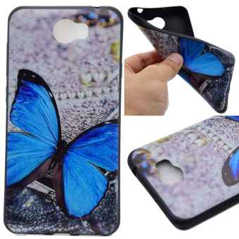 TPU Silicone Case Cover for Huawei Y5 II / Y5 2 (Butterfly) - intl