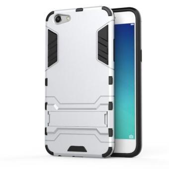 TPU+PC Neo Hybrid Phone Back Cover Case for Oppo F3 - intl - 2