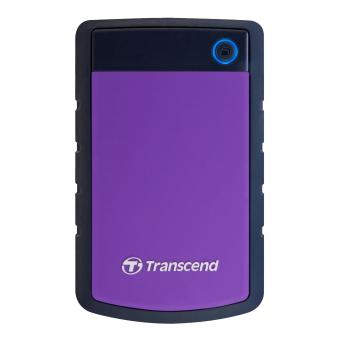 Transcend StoreJet Rugged Compact 25H3P 2TB 3.0 Portable Hard Drive (Purple) + 3 YEARS WARRANTY - 2