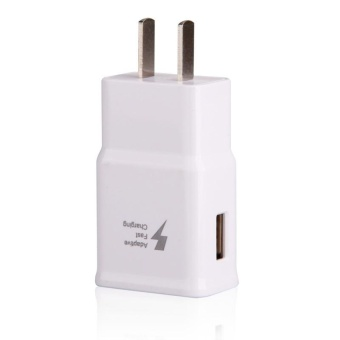 Travel / Home Quick Charger For Samsung Galaxy S5 (i9600),note3with USB 3.0 Cable (White)-note 3 chager - 4
