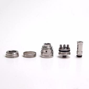 Trident V2 Styled RDA Rebuildable Dripping Atomizer SILVER - 2