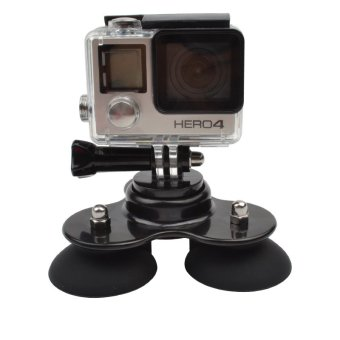 Triple Suction Cup for GoPro and Other Action Cameras - 2